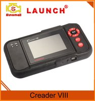 Wholesale Launch Crp - Launch Creader VIII Original Creader 8 Diagnostic Tool Code Reader OBD Automotive Scan System Same Function of Launch CRP 129 Free Shipping