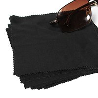 Wholesale Microfibre Glass Cloths - Wholesale-New Hot Sale 10pcs Microfibre Camera Lens Eye glasses GPS Computer Cleaning Wipe Cloths Cleaner Eyewear Accessories