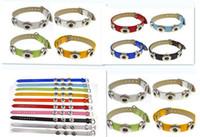 Wholesale European Charm Bracelet Kids - Noosa kids Wristband NOOSA chunks snap button jewelry Leather Charm Bracelets Trendy Snap Button DIY Jewelry Best Gift bracelet