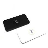 Wholesale Wireless Charger Mat - Power Qi Wireless Charger Charging Pad Mat for Galaxy S6 S7 Edge with Retail Box