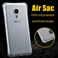 Wholesale Meizu M2 - air sac anti knock case for Meizu M3 note M2 note MX6 MX5 Pro 6 5 M3 M5 U20 thick TPU material cover