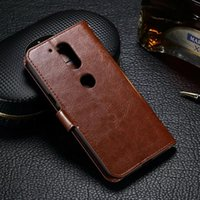 Wholesale Cell Phone Cases Pockets - Wallet Leather Case For Motorola MOTO Z G4 Plus Play XT1607 Mad Oil Pouch Crazy Horse Photo Frame Money Card Stand Colorful Cell Phone Cover