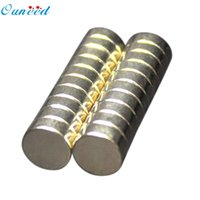 Atacado- 50Pcs Super Strong Round Disc 10x3mm Magnets Rare-Earth Neodymium Wonderful2.22