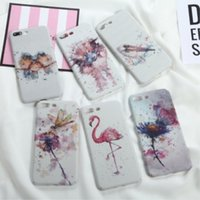 Wholesale Price Mobile Phone Case - For iphone X cell phone cases with iphone8 plus Anti-fall night light TPU mobile phone protection factory wholesale price free shipping