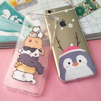 Wholesale Despicable Phone Case Iphone - Iphone 7 Case Fashion Cartoon Despicable Zootopia Soft TPU Clear Case Cover For Iphone 6 6s 7 plus Animals Crazy City Phone Case