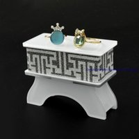 Wholesale acrylic bangle stand - One piece Acrylic Chinese Bangle Bracelet Stand Holder Jewelry Display Show Case Rack