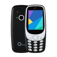 Wholesale Chinese Wholesale Torches - Newest 2.4inch 3310 Mobliephone Support 4 SIM Cards 2 Memory Cards 1000 mAh Spreadtrum 6531D Support Electric Torch Phone 2017 New Arrival