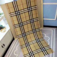 Wholesale Grid Pattern Plaid - Top Qualtiy brand name Size 180cm*70cm silk cotton Scarf for women Euro Brand French designer scarf grid Pattern Women Gift shawl scarf