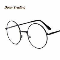f9c32d747a7 Wholesale- 2016 clear lens round eyewear frames women vintage metal glasses  frame optical men eyeglass frames oculos de grau femininos 388