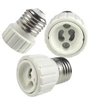 Wholesale e27 light bulb holder socket - E27 to GU10 Base Screw Light Lamp Bulb Holder Adapter Socket Converter E27 To GU10 Lamp Holder Converters