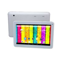 8GB Android4.4.2 Kitkat Allwinner A33 10 Tablet pouces capacitive PC Quad Core 1.5GHz 1024 * 600 Multi-Touch Dual Webcam Bluetooth Wifi 5000mAh