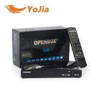 Wholesale Satellite Receiver Full - 100pcs Original Openbox V8S 1080p Full HD Satellite Receiver Openbox V8S S V8 S-V8 Support WEBTV Biss Key 2x USB Factory