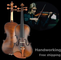Wholesale Violin Bow Quality - V304 High quality Spruce violin 4 4 violin handcraft violino Musical Instruments violin bow violin strings