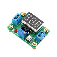 Wholesale Dc Rectifier - 2A DC-DC Digital Synchronous Rectifier Step-down Power Supply Module 4.5-24V 0.93-20V Green LED Voltmeter