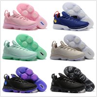 Wholesale Mvp Shoes - Discount LBJ 14 Basketball Shoes Low 2018 New Men Men's Air Zoom LB James 14s MVP Tennis Training Homme Shoe Brand Sports Sneakers