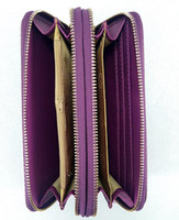 Wholesale New Style Wallets For Girls - new Luxury top quality fashion Designers women's leather long Handbags Wallet Purse Clutch Holders Ladies wallet for girl and lady