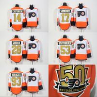 d0d756eec Men Women Youth 50th Anniversary Philadelphia Flyers 14 Sean Couturier 51  Valtteri Filppula 11 Travis Konecny 21 Scott Laughton Jerseys