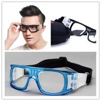 Wholesale Protective Soccer Glasses - Men Anti-fog myopia basketball glasses bendable soccer glasses protective football goggles flexible sports eyewear basketball eyeglasses