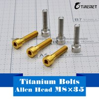 Wholesale Bolt Grades - M8 x 35mm Allen Socket Head Titanium   Ti Bolt - Grade 5, 6AL 4V
