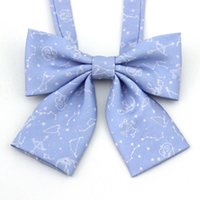 Wholesale Sexy Uniform Tie - Japaness JK kawaii Girl Constellation Uniform Tie Women Anime Custom Clothes Cosplay prop
