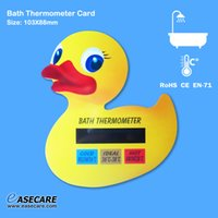 Wholesale Bath Thermometer For Babies - Free Shipping 10pcs lot Duck Shape Baby Care Bath Thermometer for Bathtub Water Temperature