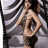 Wholesale One Piece Leopard Lingerie - Wholesale-Women's Sexy Leopard One Piece Dress Lingerie V-neck Halter Backless Sleepwear