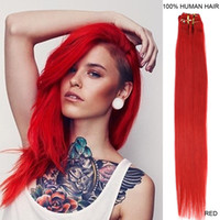 Wholesale Wholesale Remy Packs - Remy clip in hair extensions top grade indian remy human hair extensions 70g 7pcs pack diferent color available