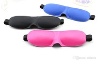 Wholesale 3D Health care the black sleeping mask eye cover for sleeping eyeshade snoring products