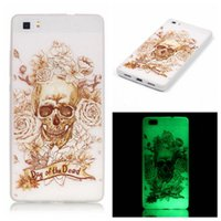 Wholesale Galaxy S4 Glowing Cases - For Galaxy S4 Mini J5 G360 S5 S6 for LG G5 K10 Love Tree Glow In Dark Soft TPU Case Deer Tower Skin