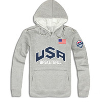 Wholesale Usa Hoodies - Wholesale-2016 Fashion brand autumn winter Men Hoodies Mens Hip Hop USA Basketball Sweatshirts men 4 Colors blusa masculina ding