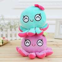 Wholesale Cute Octopus Soft Toy - 18cm Kawaii Cute Toys Stuffed Animals Soft Doll Baby Kid Girls Cute Octopus Plush Dolls