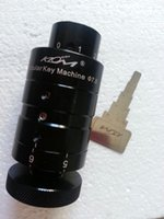 herramienta de selección de bloqueo tubular klom al por mayor-Alta calidad KLOM portátil llave de bloqueo de la máquina de corte de llaves herramientas de cerrajería de bloqueo conjunto de selección 7.5mm 7.8mm