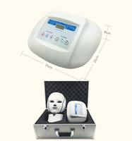 types de laveur à ultrasons achat en gros de-Masque facial de rajeunissement de couleur de 3 couleurs 3 de photodynamique de lumière d'ascenseur de photon mené par anti-vieillissement