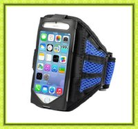 Wholesale S3 Gym Strap - Adjustable Reticular Arm band Sport Net Armband Running Gym Strap Holder for Samsung galaxy S3 For Iphone 6 6s case