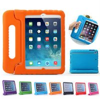 Wholesale anti shock case for ipad - Light Weight Shock Proof Convertible Super Protection Handle Stand Kids Children Friendly EVA Case for Ipad 2 3 4 ipad mini ipad air
