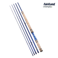Wholesale footing design - Fairiland 11.3ft 3.43m 6 7# 7 8# 8 9# 5 SEC Fly Fishing Rod Carbon Freshwater Blue Fashion Design Fly Rod