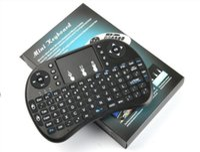 bluetooth handtastatur großhandel-Wireless Keyboard rii Mini i8 Tastaturen Fly Air Maus Multi-Media-Fernbedienung Touchpad Handheld für TV BOX Android Mini PC