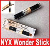 Wholesale Media Stocks - Wonder stick Concealer Pencil and contours shade stick Light Medium Deep Universal Hot Selling In Stock