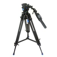 Wholesale Pro Fluid Camera - New Pro Video Camera Camcorder Fluid Drag Tripod KH25N Benro KH-25 + RM25X Remote Control For Canon XL1 XL1S XM1 Sony FX1E