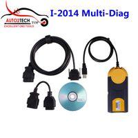 Wholesale Multi Diag J2534 - Wholesale-Free DHL&EMS! I-2014 Multi-Diag Access J2534 Pass-Thru OBD2 Device V2014.01 version Support Multi-Language Best Quality