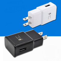 Wholesale Apple Wall Charger Oem - For Samsung Adaptive Fast Charging Wall Charger adapter EP-TA20JWE Original Quality OEM US EU UK Plug For Galaxy S8 S7 Edge Note 8 J7 prime