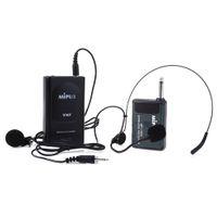 kullanılan kamera toptan satış-Yeni TOPS MP-106A Yaka Ile Kablosuz Kulaklık Kulaklık Dinamik Kamera Için Kullanılan Bilgisayar Kondenser Mikrofon Mikrofonun sınıfta