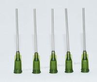 "Wholesale Dispensing Needles - wholesale Dispensing Needle,W  ISO standard helix luer lock Blunt Tip 14 ga x 1-1 2"" Tip, 100 pcs"