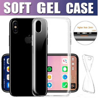 Wholesale Super Transparent - Phone Case For Apple Iphone X 8 7 6s plus Samsung S8 S7 Note8 Clear Soft TPU Super Thin Transparent Cheapest Back Cover