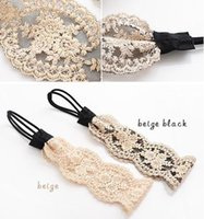 Wholesale Lace Headbands Wholesale For Women - fashion women headband,lace flower hair band stylish vintage hair accessory for wedding bride