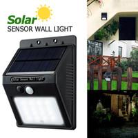 Wholesale Solar Powered 16 Led - LED Solar Light 16 LED Outdoor Wireless Solar Powered PIR Motion Sensor Solar Lamp  Wall lamp  Security lights Garden Light LEG_200