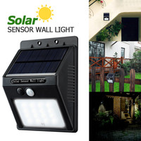 Wholesale 16 Led Solar Outdoor - LED Solar Light 16 LED Outdoor Wireless Solar Powered PIR Motion Sensor Solar Lamp  Wall lamp  Security lights Garden Light LEG_200