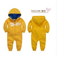 Wholesale Green Day Underwear - 2016 new spring Autumn Baby rompers Newborn Cotton tracksuit Clothes bebes Long Sleeve Underwear Infant Boys Girls jumpsuit