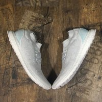 Wholesale Mystery Black - Ultraboost Uncaged Tech Earth & Ultra Boost Parley Mystery Red Shoes For Men & Women On Sale,Triple Black & Triple White Shoes Free Shipping