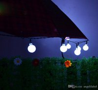 Luci a LED solari per Halloween Christmas Decoration Lamp Festival Natale Outdoor Light String Tree Decor con batteria